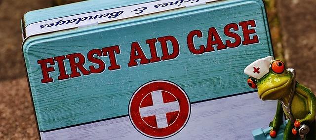 krabička pro první pomoc
