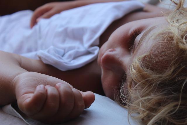 baby spánek