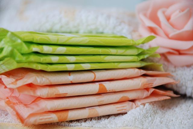 menstruační vložky