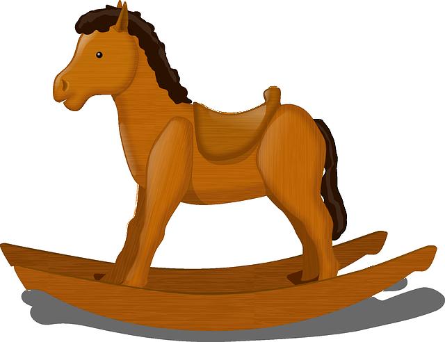 Hračky zdřevěného masivu jsou vhodné i pro nejmenší děti