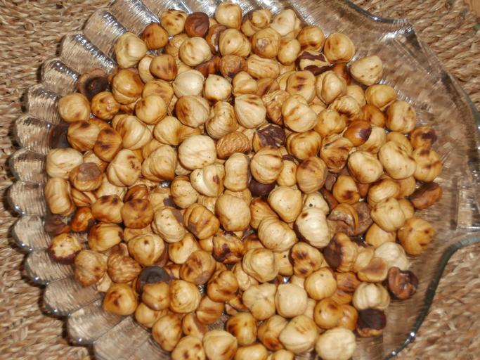 pražené ořechy