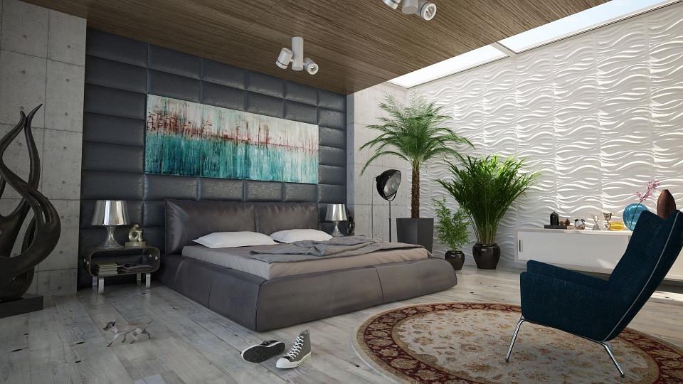 ložnice dekorace